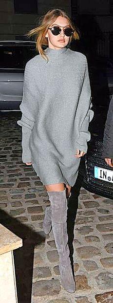 Visokoraslim suhicam pristojijo domala vse oblike  puloverjev.