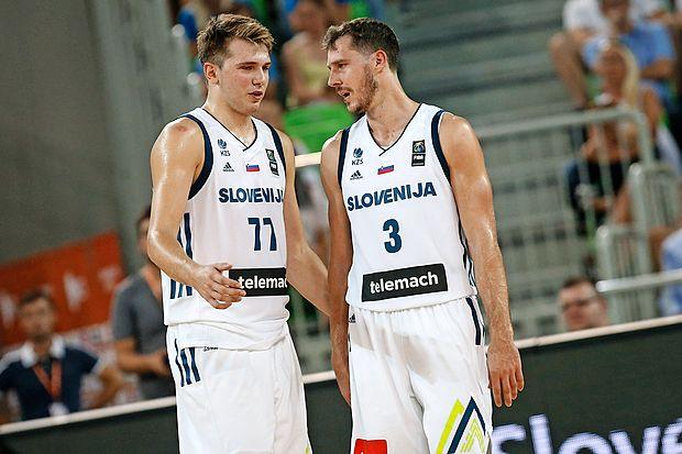 Luka Dončič in Goran Dragić