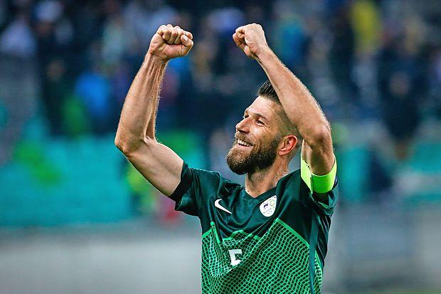 Bo imel slovenski kapetan Boštjan Cesar po nocojšnji tekmi  na Wembleyju razlog za veselje?