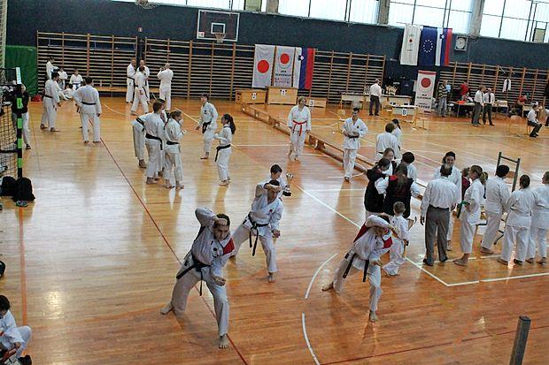 Samuraji iz Sežane so bili ekipno najboljši na drugi tekmi  slovenskega pokala.