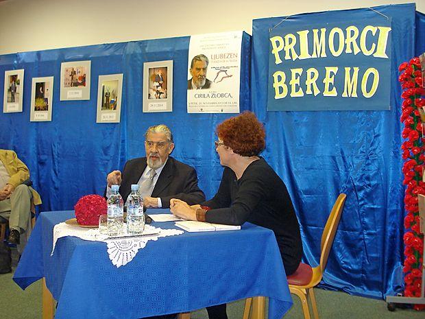 Ciril Zlobec je predstavil svojo najnovejšo knjigo poezije, o  njej ga je spraševala Nela Malečkar.