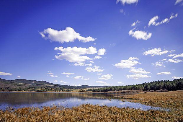 Palško jezero je največje izmed vseh Pivških presihajočih  jezer.