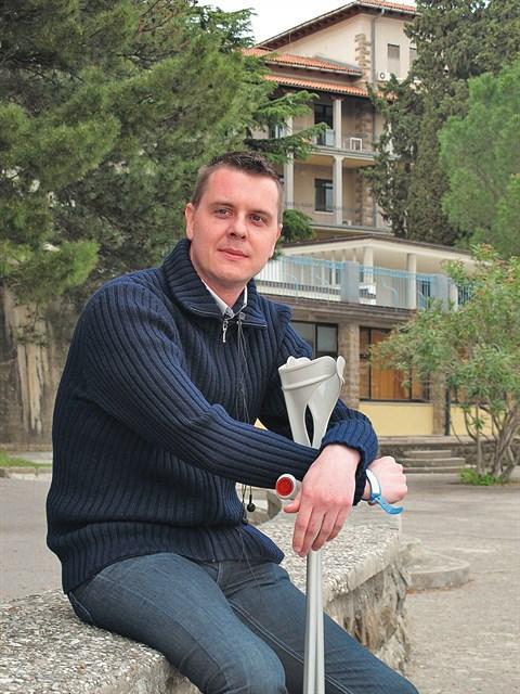 """Simon Petrovčič: """"Je ni tablete, ki bi ti bolj pomagala, kot pogovor z nekom, ki je preživel disekcijo aorte."""""""