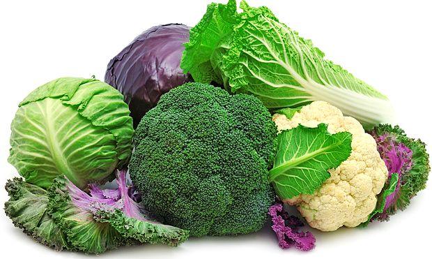 Dieta podrobno razdeljuje tudi vse vrste zelenjave.