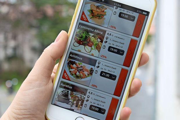 Aplikacija za cenejšo večerjo