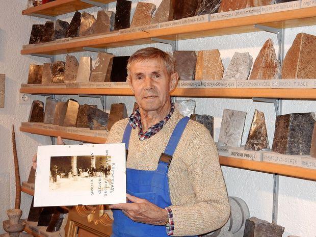Hram demokracije je tudi galerija slovenskih kamnov in kamnoseštva