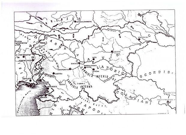 Naši kraji niso bili prazen prostor, ki bi čakal na Rimljane in Slovane