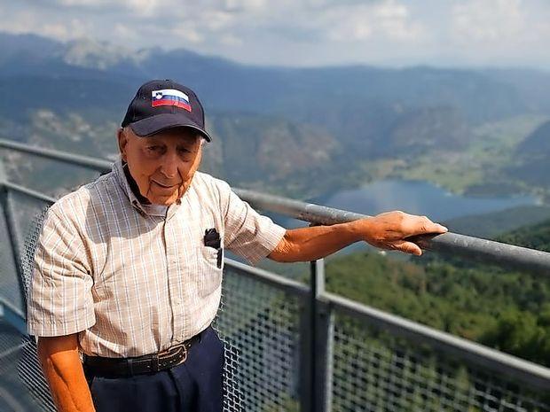 """Ameriški Slovenec Frank Gorup: """"Nikoli si nisem predstavljal, da je Triglav takšen"""""""
