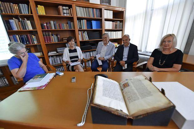 V Slovenijo se je vrnil Slavinski misal iz leta 1481