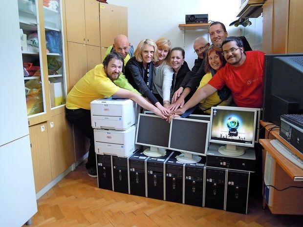 3000 obnovljenih in podarjenih računalnikov