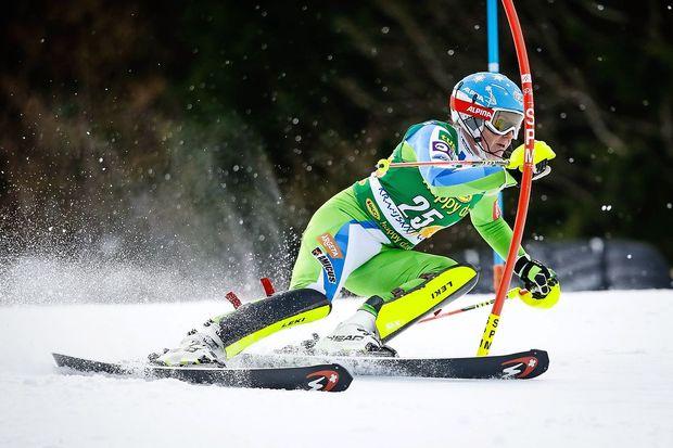 Ferkova še najbolj zadovoljna s slalomskim nastopom