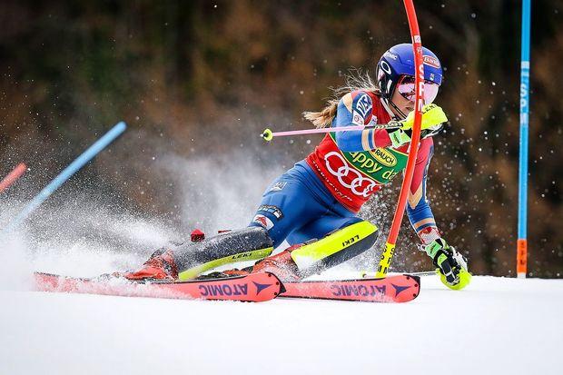 Ne Mikaela Shiffrin, zmagovalka olimpijskega slaloma je Frida Hansdotter