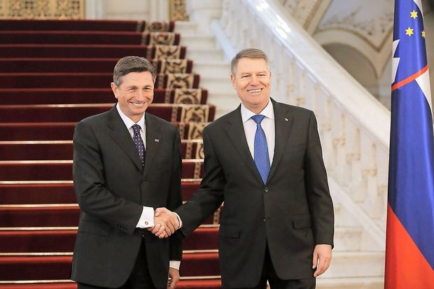 Pahor in Iohannis o romunskem predsedovanju EU, Zahodnem Balkanu in dvostranskih odnosih