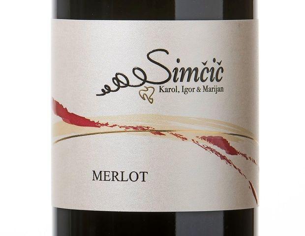 Vino: merlot (Simčič Karol, Igor & Marijan)