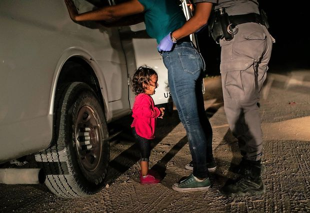 Fotografija deklice na meji ZDA zmagovalka World Press Photo