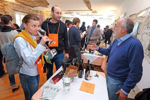 Jutri na festival oranžnih vin (video)