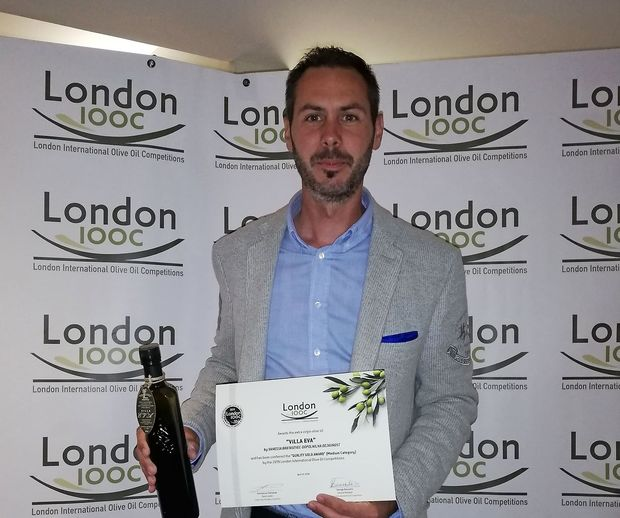 V Londonu zlato priznanje za oljčno olje iz Brd