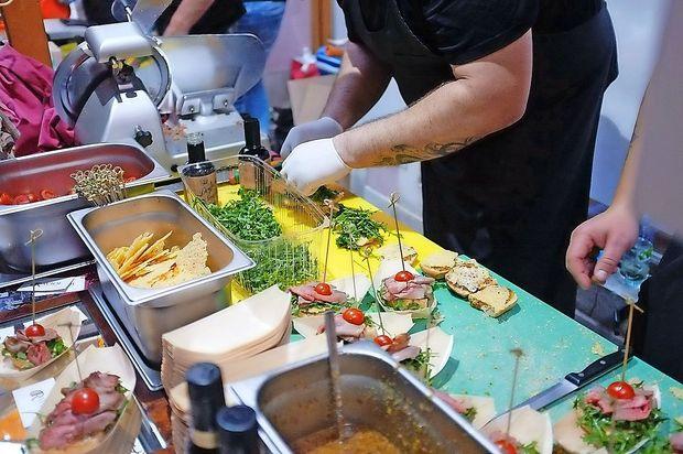 Gurmanski panini tokrat na Titovem trgu