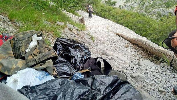 Tudi dolina Glinščice polna sledi migrantov