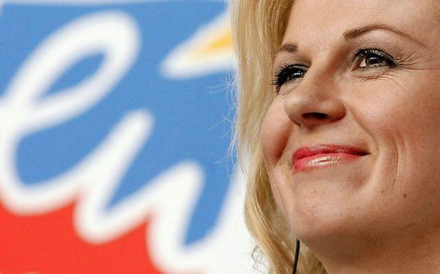 Grabar-Kitarovićeva podprla protiimigrantsko politiko Orbana in Salvinija