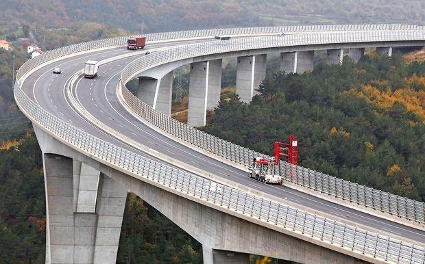 Dars: Stabilnost konstrukcije viaduktov v Sloveniji ni ogrožena