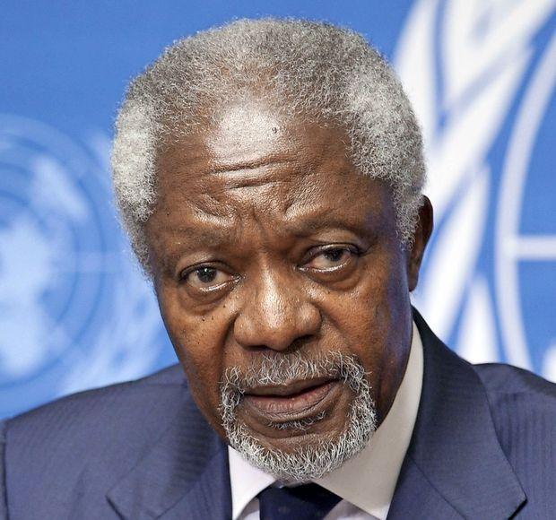 Umrl nekdanji generalni sekretar ZN Kofi Annan