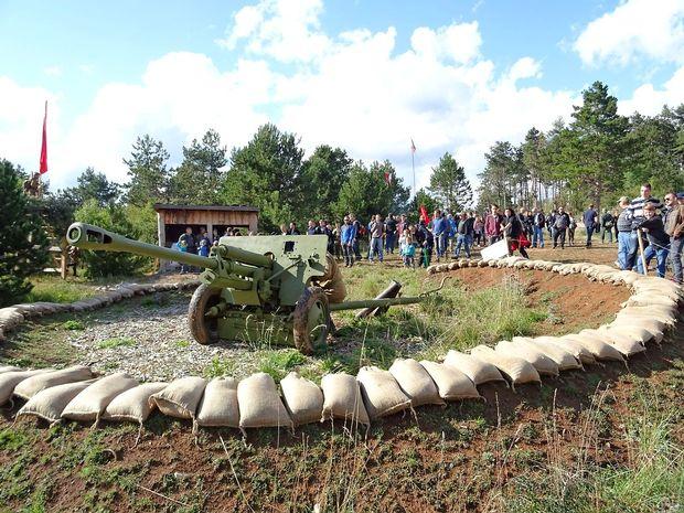 V Pivki konec tedna Festival vojaške zgodovine