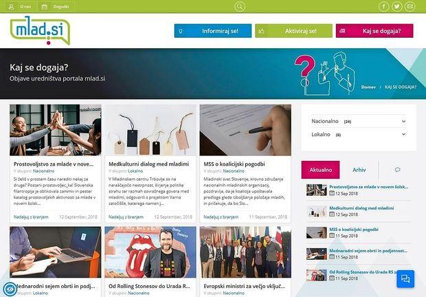 Nov spletni portal za mlade