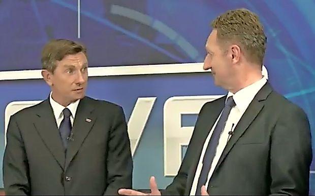 "Popovič: ""Pahor, me gledate čudno"" (video)"