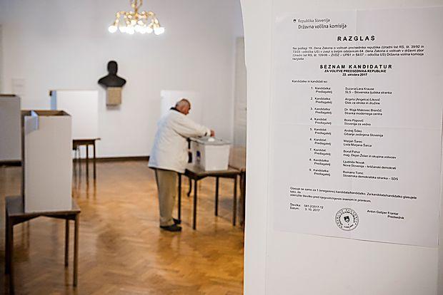 Volilna udeležba do 16. ure 32,02-odstotna