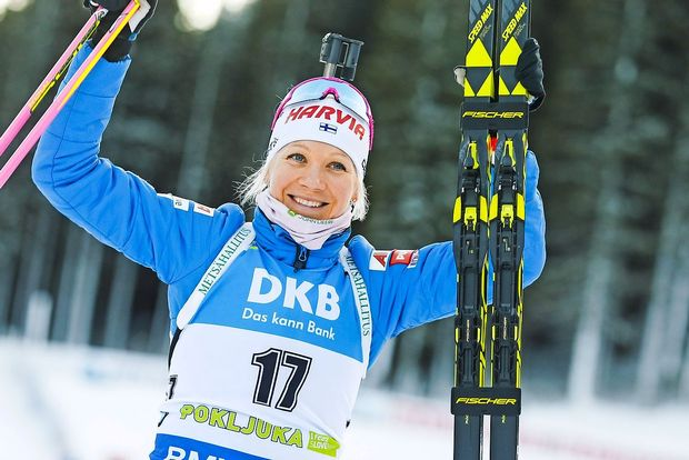 Mäkäräinenova dobila tudi zasledovanje na Pokljuki