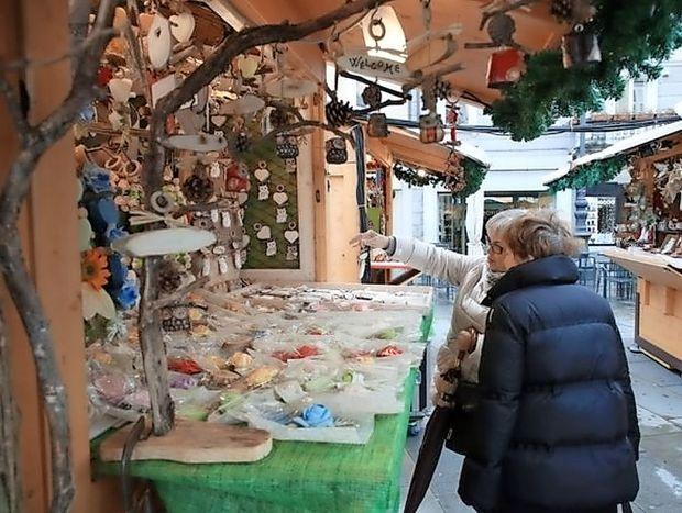 V Trstu se je začel božični sejem