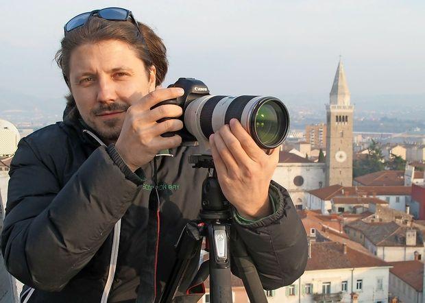 Fotograf Jaka Ivančič je prvi ambasador Krajinskega parka Debeli rtič