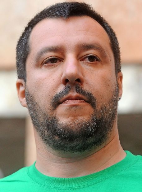 Salvini proti italijanski vladi za vsako ceno