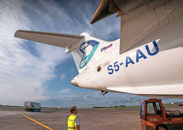 Adriina švicarska letalska družba razglasila stečaj