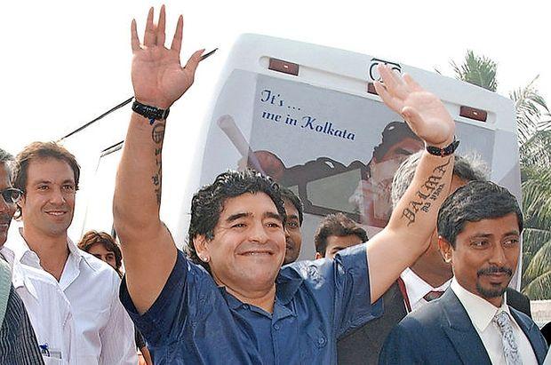 Maradona bi brezplačno treniral Argentince