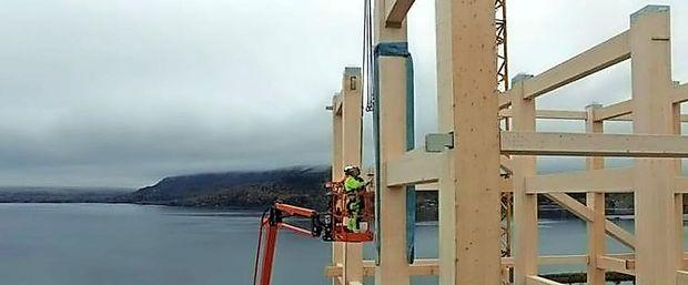 Na Norveškem gradijo leseni nebotičnik