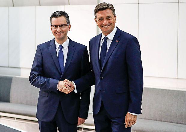 Pahor in Šarec v drugi krog predsedniških volitev