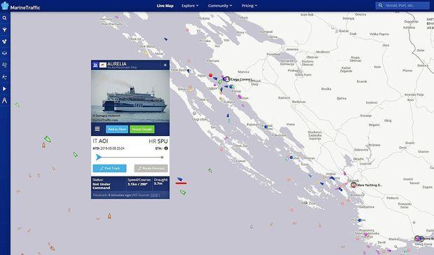 Trajekt po četrtkovi okvari prispel v Split