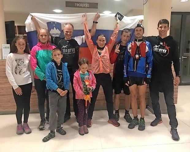 Vipavka izboljšala ženski rekord teka po planinski transverzali
