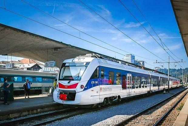 Iz Ljubljane v Trst tudi z vlakom