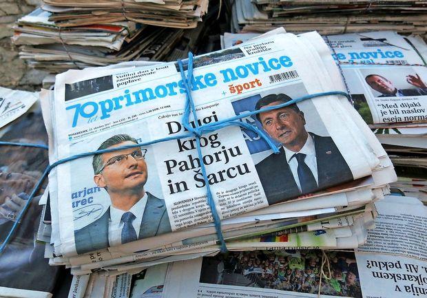 Anketa: Razlika med Pahorjem in Šarcem premajhna za napoved zmagovalca