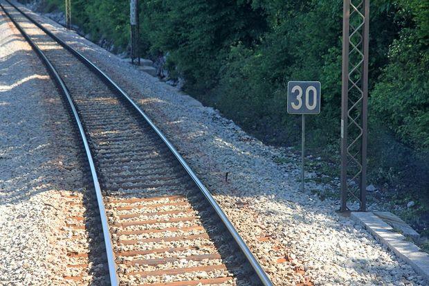 V Sežani iztirila lokomotiva tovornega vlaka