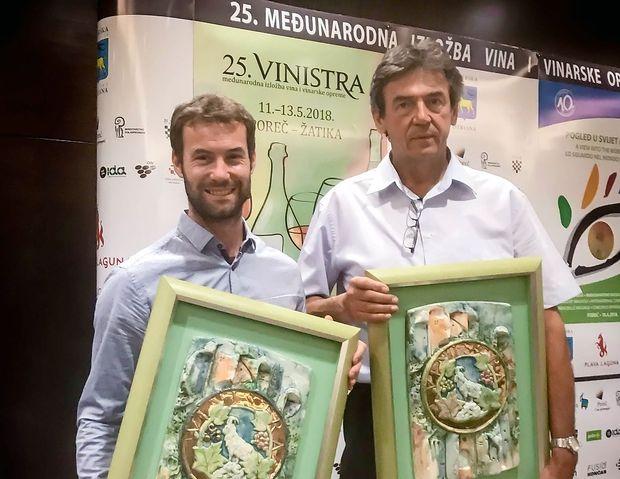 Jogan in Babič, šampiona letošnje Vinistre