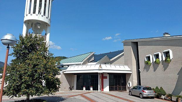 Prva in edina konkatedrala v Sloveniji