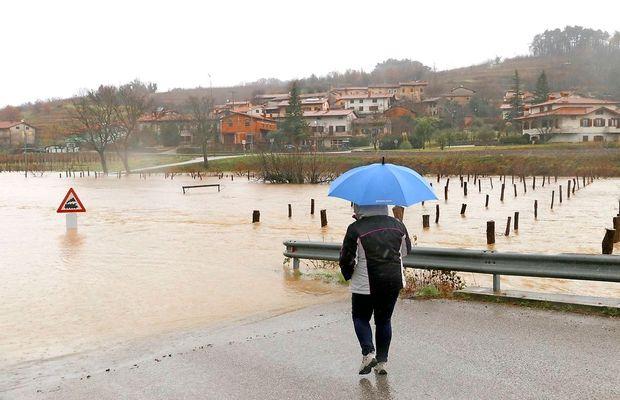 Slovenska karitas zbira denarno pomoč za prizadete v zadnjem neurju