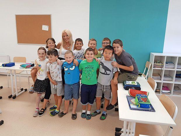 Učenci nižjih razredov OŠ Pier Paolo Vergerio il Vecchio končno v novi šoli