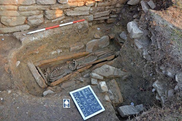 Okostnjak na Kolombanu ima morda tisoč let
