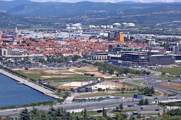 400.000 evrov evropskega denarja za park ob morju