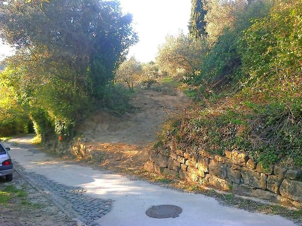 Tlakovce med Fieso in Pacugom bo nadomestil asfalt